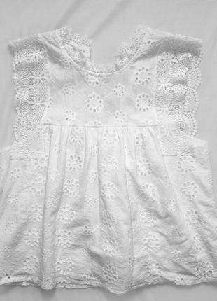 Укороченная рубашка, блузка / кружевная рубашка / рубашка без рукавов
