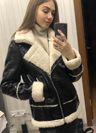 Дубленка,куртка-авиатор