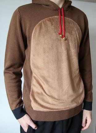 Очень классный свитер костюм оленя