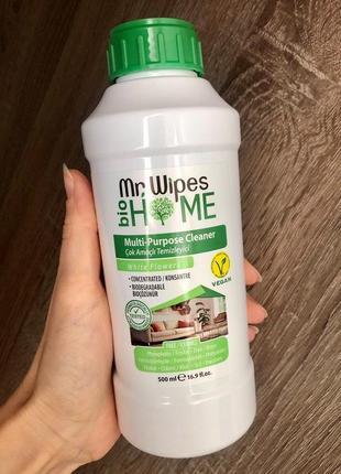 Мультифункціональний миючий засіб farmasi mr. wipes