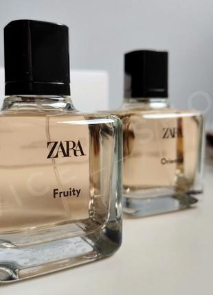 Zara fruity oriental духи парфюмерия туалетная вода оригинал испании2 фото