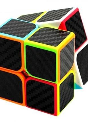 Акция! кубик рубика 2х2х2 карбон + подарок