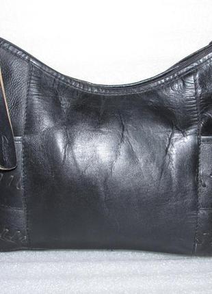 Объёмная сумка хобо ~ clarks ~ 100% натуральная кожа индия