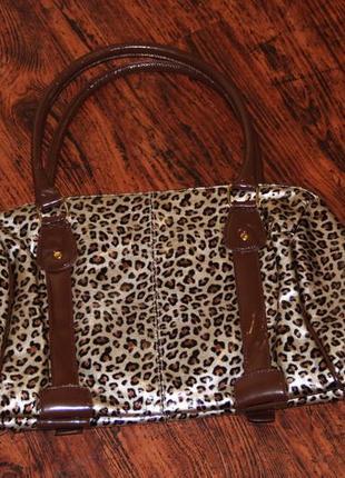 Леопардовая сумка avon