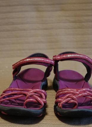 Розовые текстильные босоножки karrimor salina ladies walking sandals англия 39 р.