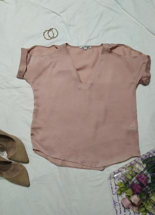 ‼️ sale ‼️1+1=3🎁стильная сатиновая блуза с открытыми плечами
