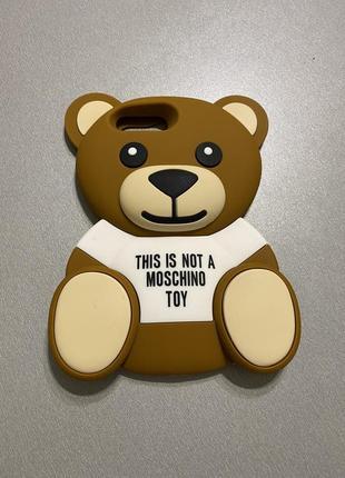 Moschino чехол на iphone 7+