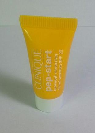 Pep-start hydrorush moisturizer broad spectrum spf 20 mini 7мл