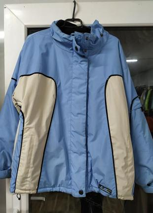 Женская лыжная куртка размер l