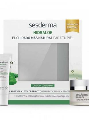 Sesderma hidraloe набор для увлажнения крем для лица 50 мл. и крем для контура глаз 15 мл.