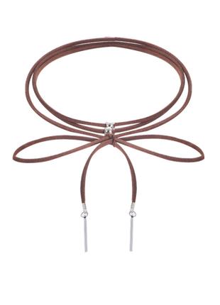 Чокер шнурок длинная нить с подвесками / шнурок / большая распродажа!
