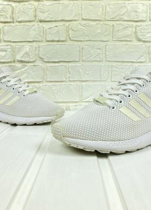 Кроссовки adidas zx flux original 39 белые легкие