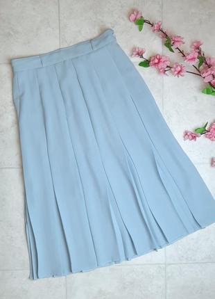 1+1=3 отличная юбка плиссе на завышенной талии миди berkertex, размер 46 - 48