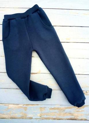 Тёплые спортивные штаны с начесом зимние