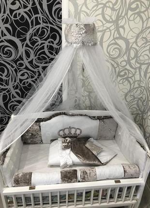 Комплект в ліжечко бортики