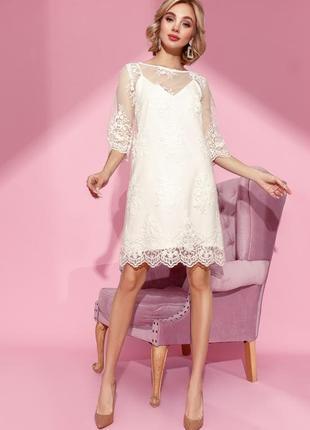 Платье-сетка