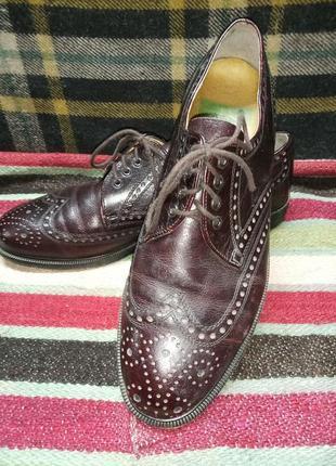 Туфли броги gallus винтажные made in austria