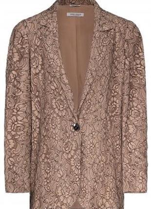Нежный гипюровый пиджак