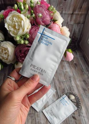 Крем для депиляции pilaten hair removal cream (