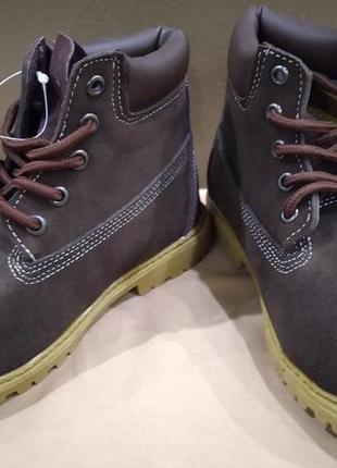 Ботинки timberland kid basic для мальчика