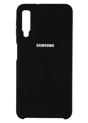 Чехол бампер silicone cover для samsung galaxy a7-2018/ a750