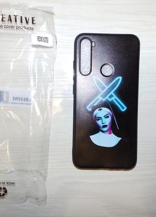 Силиконовый чехол , бампер для xiaomi redmi note 8 с оригинальной картинкой