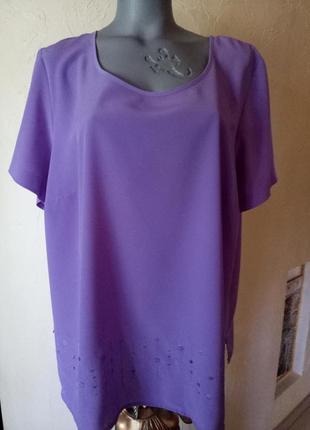 Распродажа!!!блуза большого размера 58-60