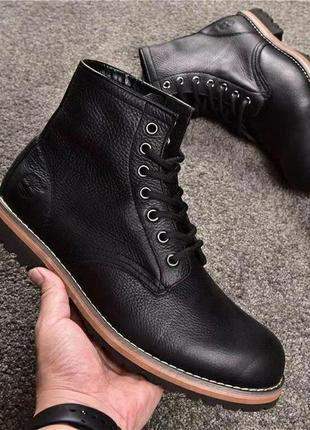 Timberland ботинки мужские кожаные демисезонные