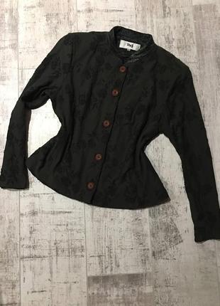 Винтажный пиджак/кофта в китайском стиле 💫