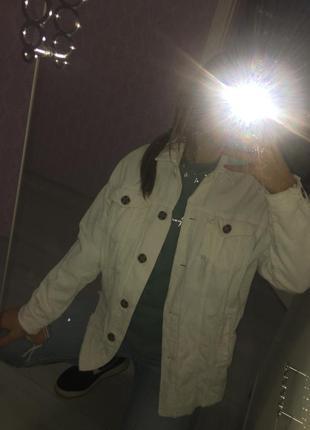 Вельветовая куртка джинсовка