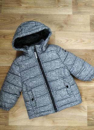 Зимняя куртка h&m 1.5-2