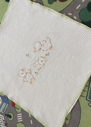 Одеяло плед для новорожденных