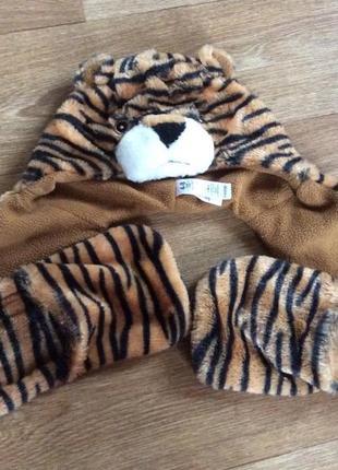 Шапочка-тигр