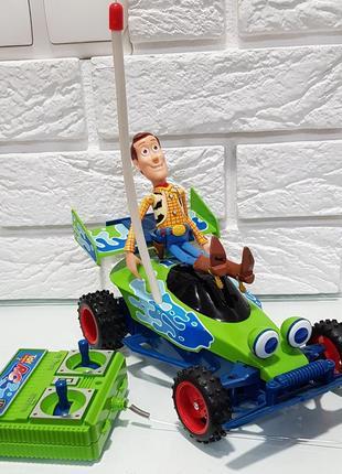 Машина на радиоуправлении tyco история игрушекм