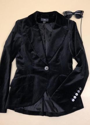 Шикарный велюровый пиджак премиум качества