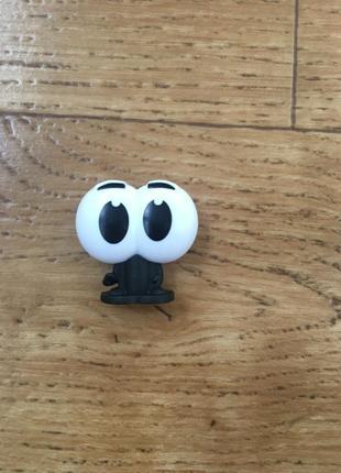 Крутая мини ручка глазастик. ручка-прикол