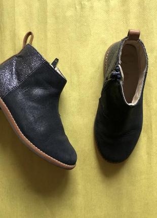 Clark's кларкс черевики ботинки 25-26р шкіра нубук