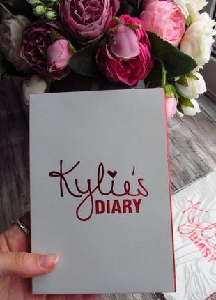 Набор тени + румяна kylie diary pressed powder palette