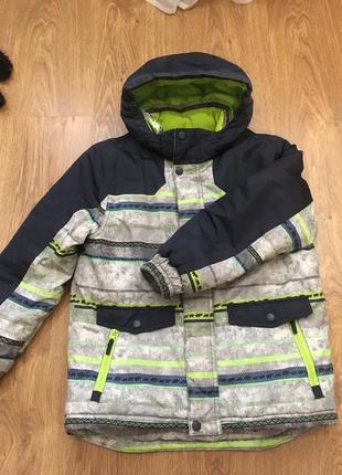 Зимняя куртка фирмы кунда р. 134