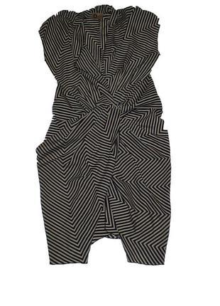 Lanvin платье шелковое оригинал s - m