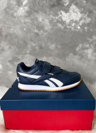 Оригинал! детские кроссовки reebok royal classic jogger 2 2v на липучке новые