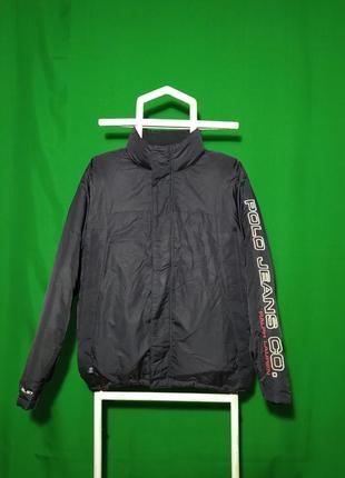 Куртка пуховик ralph lauren polo jeans big logo
