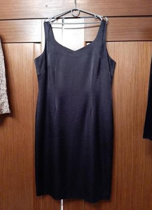 Маленькое черное платье батал для полной