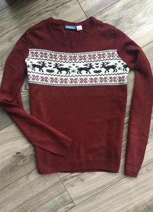 Свитер новогодний светр новорічний для фотосесії