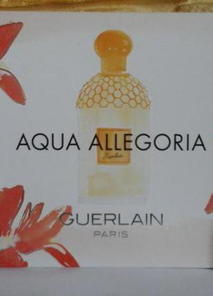 Guerlain aqua allegoria teazzurra миниатюра