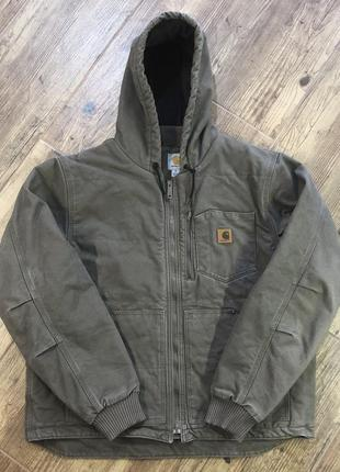 Мужская плотная оригинальная теплая куртка carhartt