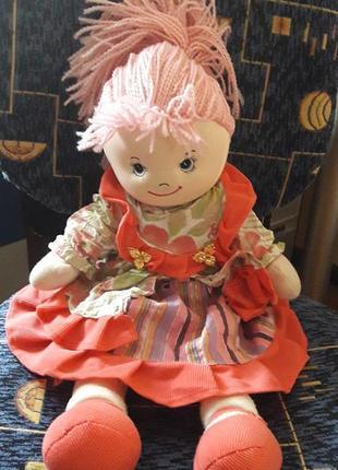 Мягкая кукла ручной работы