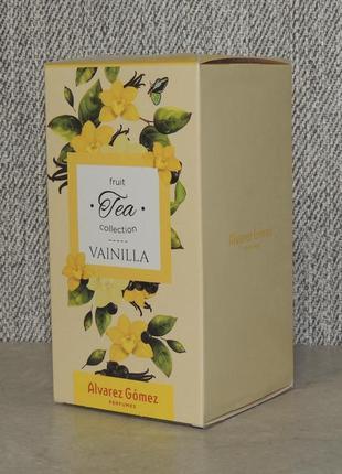 Alvarez gomez fruit tea collection vainilla 100 мл для женщин