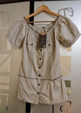Стильная блузка германия р.s-m