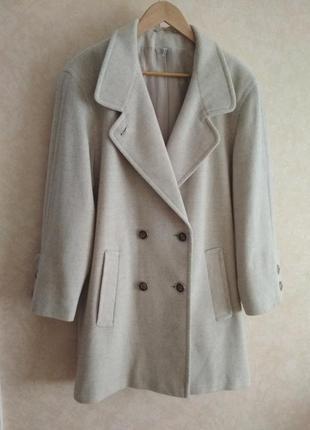 Sale!актуальное пальто в стиле max mara marella woolmark zara шерсть кашемир